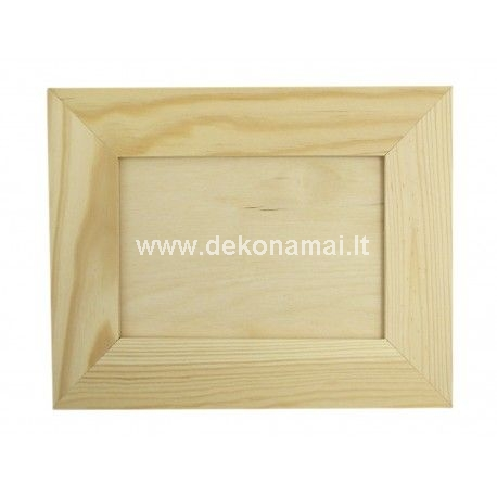 Size: 29x23x1cm.<p>Photo size: 21x15cm</p><p>Frame with 4cm.</p><p>Frame with glass.</p>