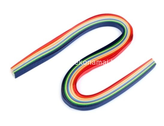 Quilling Paper Strips 6 mm, 100 pcs