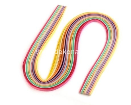 Quilling Paper Strips 4 mm, 100 pcs